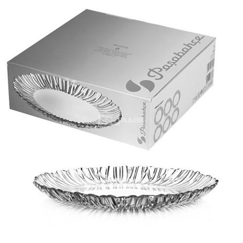 Набор блюд Pasabahce Aurora 6 шт 10512 (d-20.5см)