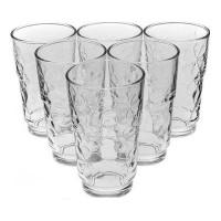 Набор высоких стаканов Luminarc Funny Flowers 6 шт J1137 (270мл)