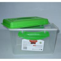 Квадратный пищевой контейнер Vincent VC-2008 (2700мл)