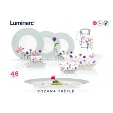 Сервиз столовый Luminarc Rosana Trefle N2171 -46пр