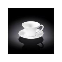 Чашка с блюдцем для кофе Wilmax WL-993168 (100мл)