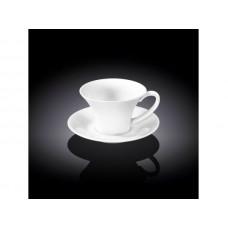 Набор чашек с блюдцами для кофе Wilmax WL-993168 (100мл)