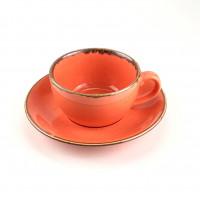 Чашка с блюдцем Porland 222105 O (207мл)