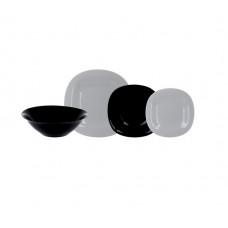 Сервиз столовый Luminarc Carine Granit&Black P4449-18пр