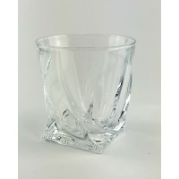 Набор стаканов для виски Bohemia Quadro b2k936-99A44 (340мл)