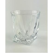 Набор стаканов для виски Bohemia Quadro 2 шт b2k936-99A44 (340мл)