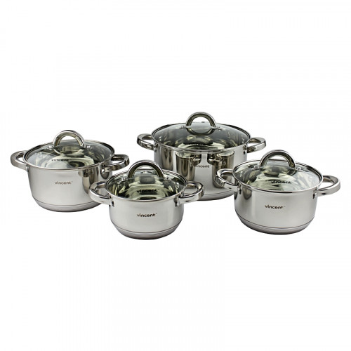 Набор посуды Vincent VC-3030 - 8 предметов