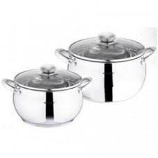 Набор посуды Vincent VC-3031 (2,2л; 4л) - 4 предмета