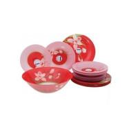 Сервиз столовый Luminarc Red Orchis G0663/N4656 -19пр