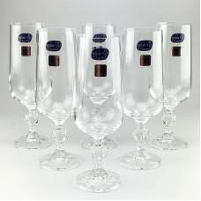 Набор бокалов для шампанского Bohemia Claudia 6 шт b40149 (180мл)