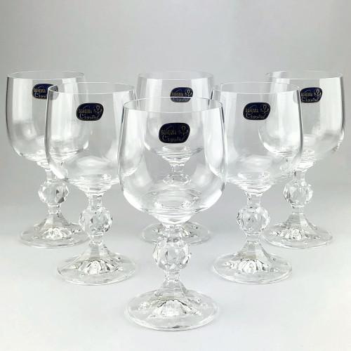Набор бокалов для вина Bohemia Claudia 6 шт b40149 (190мл)