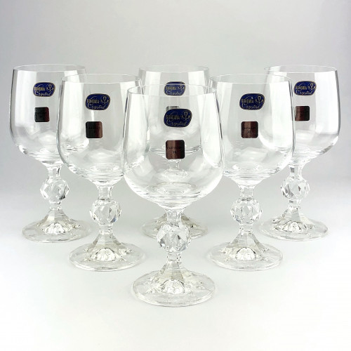 Набор бокалов для вина Bohemia Claudia 6 шт b40149 (230мл)