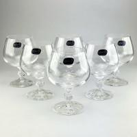 Набор бокалов для коньяка Bohemia Claudia 6 шт b40149 (250мл)