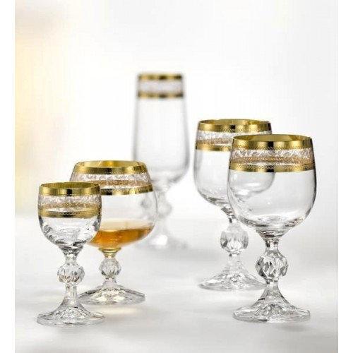 Набор бокалов Bohemia Claudia b40149-43081-24пр