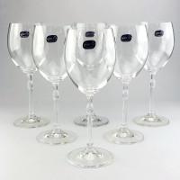 Набор бокалов для вина Bohemia Caroline 6 шт b40338 (340мл)