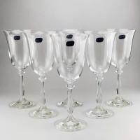 Набор бокалов для вина Bohemia Angela 6 шт b40600 (185мл)