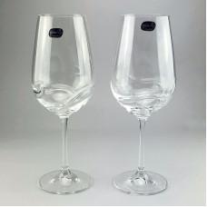 Набор бокалов для вина Bohemia Turbulence 2 шт b40774 (550мл)