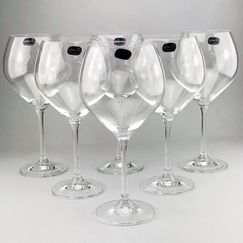 Набор бокалов для вина Bohemia Sophia 6 шт b40814 (650мл)