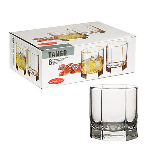Набор низких стаканов Pasabahce Танго 6 шт 42943т (250мл)