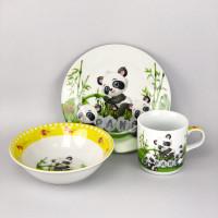 Набор детской посуды 4305 - 3 предмета (Расцветка на выбор)
