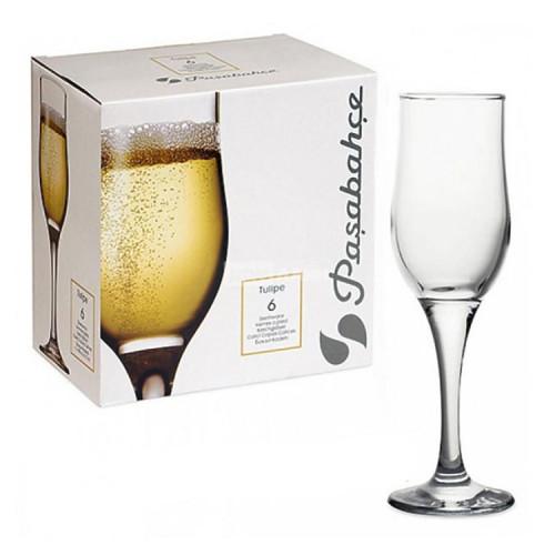 Набор бокалов для шампанского Pasabahce Тулип 6 шт 44160 (190мл)
