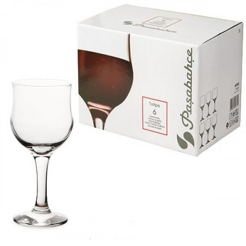 Набор бокалов для красного вина Pasabahce Tulipe 6 шт 44163 (240мл)