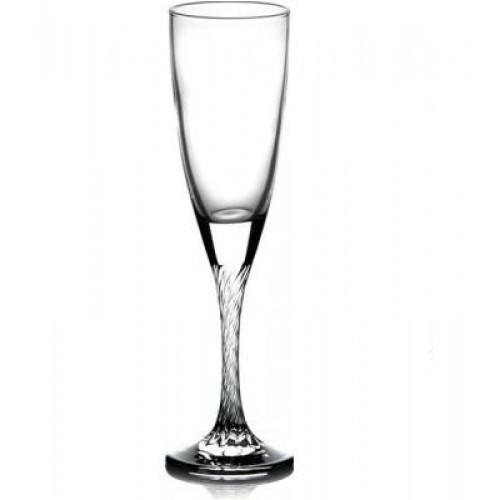 Набор бокалов для шампанского Pasabahce Твист 6 шт 44307 (150мл, h-21см)