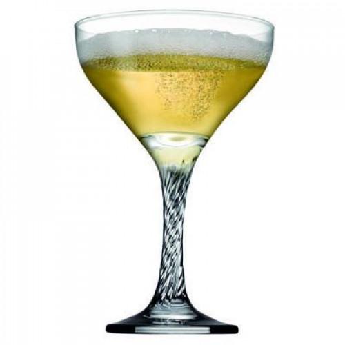 Набор бокалов/чаша для шампанского Pasabahce Твист 6 шт 44616 (280мл, h-16см)