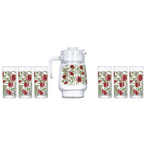 Кувшин со стаканами Luminarc Fresh Blooms P4816 (1600мл)
