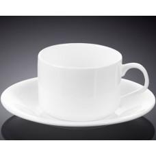 Чайная чашка с блюдцем Wilmax WL-993006 (160мл)