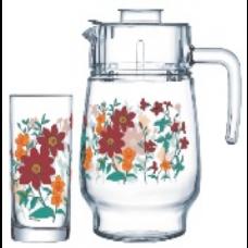 Кувшин со стаканами Arcopal All in Bloom P6031 7пр