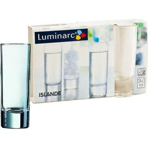 Набор рюмок Luminarc Islande 3 шт E5095 (60мл)