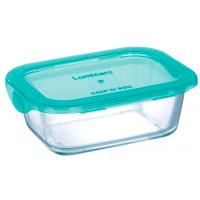 Прямоугольный пищевой контейнер Luminarc Keep'n'Box Lagoon P5518 (820мл)