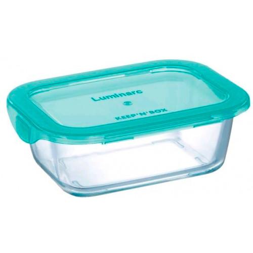 Прямоугольный пищевой контейнер Luminarc Keep'n'Box Lagoon P5519 (380мл)