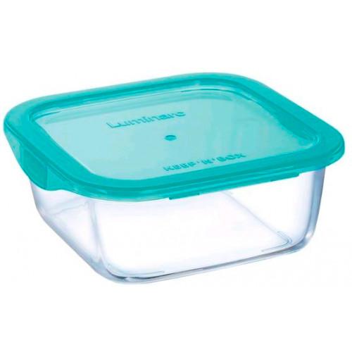 Квадратный пищевой контейнер Luminarc Keep'n'Box Lagoon P5521 (760мл)