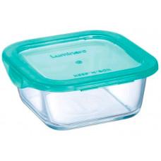 Квадратный пищевой контейнер Luminarc Keep'n'Box Lagoon P5522 (380мл)