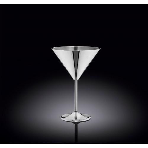 Бокал для мартини Wilmax St.Steel Silver WL-552304 (300мл)
