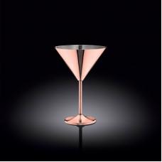 Бокал для мартини Wilmax St.Steel Copper WL-552306 (300мл)