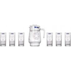 Кувшин со стаканами Luminarc Ceara L5807 (кувш.1,6л,стак.270мл-6шт)-7пр