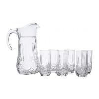 Набор кувшин со стаканами Luminarc Brighton 61955 (кувш.1,8л,стак.310мл-6шт)-7пр
