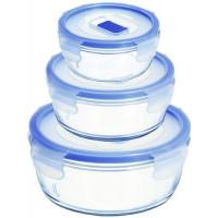 Набор круглых пищевых контейнеров Luminarc Pure Box Active H7684 (420мл,670мл,920мл)-3пр
