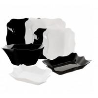 Сервиз столовый Luminarc Authentic Black&White E6195 -19пр