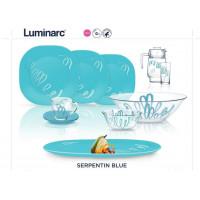 Сервиз столовый Luminarc Serpent Blue N6701 -69пр