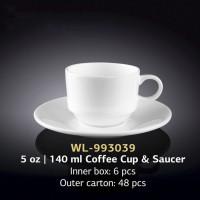 Набор чашек с блюдцами для кофе Wilmax WL-993039 (140мл)