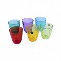 Набор разноцветных стаканов Luminarc Diamond Colorlicius 6 шт P7131 (310мл)