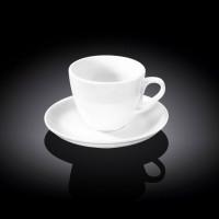 Чайная чашка с блюдцем Wilmax WL-993175 (190мл)