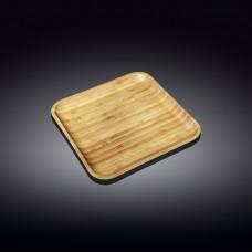 Бамбуковая тарелка Wilmax Bamboo WL-771020 (17,5х17,5см)