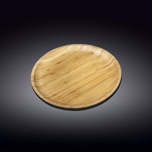 Набор бамбуковых тарелок Wilmax Bamboo WL-771034 (25,5см)
