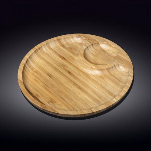 Бамбуковое блюдо Wilmax Bamboo WL-771043 (25см)