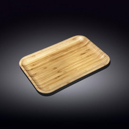 Бамбуковое блюдо Wilmax Bamboo WL-771054 (30,5х20,5 см)